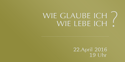 Einladung Horb 22. April 2016