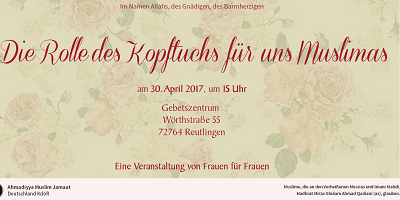 Einladung Reutlingen 30. April 2017